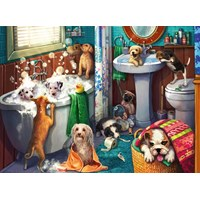 "Ravensburger (12667) - ""Tub Time"" - 200 pieces puzzle"