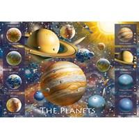 "Ravensburger (10853) - ""The Planets"" - 100 pieces puzzle"