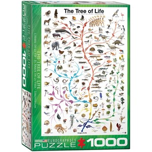 """Eurographics (6000-0282) - """"The Tree of Life"""" - 1000 pieces puzzle"""