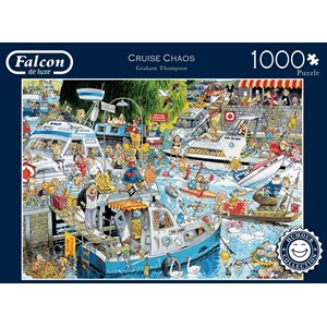 "Falcon (11198) - Graham Thompson: ""Cruise Chaos"" - 1000 pieces puzzle"