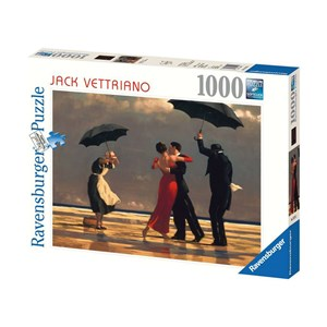 """Ravensburger (19215) - Jack Vettriano: """"The Singing Butler"""" - 1000 pieces puzzle"""
