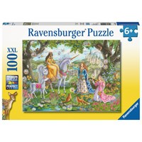 "Ravensburger (10402) - ""Princess Party"" - 100 pieces puzzle"