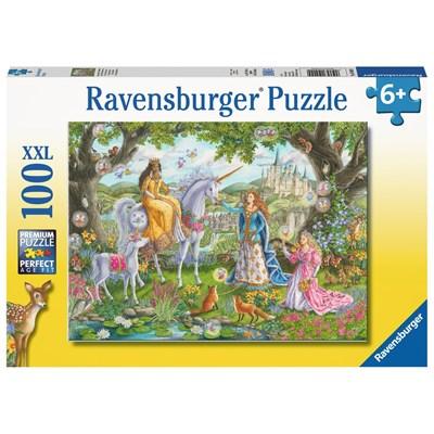 """Ravensburger (10402) - """"Princess Party"""" - 100 pieces puzzle"""