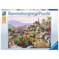 "Ravensburger (14806) - ""Hillside Retreat"" - 500 pieces puzzle"