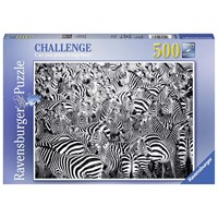 "Ravensburger (14807) - ""Zebra"" - 500 pieces puzzle"