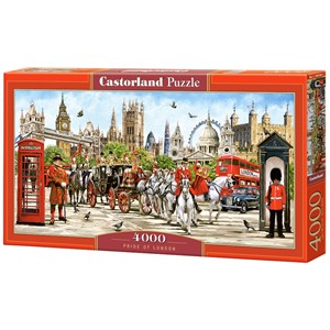 "Castorland (C-400300) - ""Pride of London"" - 4000 pieces puzzle"