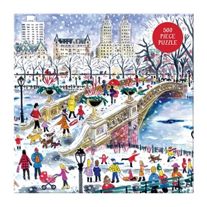"Chronicle Books / Galison (9780735356863) - Michael Storrings: ""Bow Bridge in Central Park"" - 500 pieces puzzle"