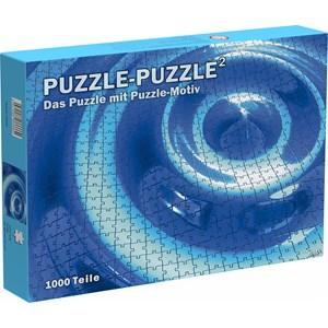 """Puls Entertainment (66666) - """"Puzzle-Puzzle²"""" - 1000 pieces puzzle"""