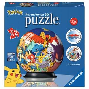 """Ravensburger (11785) - """"Pokemon"""" - 72 pieces puzzle"""