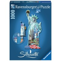 "Ravensburger (16151) - ""Statue of Liberty"" - 1000 pieces puzzle"