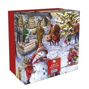"""Gibsons (G3409) - Marcello Corti: """"A White Christmas"""" - 500 pieces puzzle"""