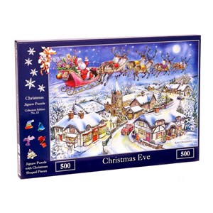 """The House of Puzzles (4494) - Ray Cresswell: """"No.13, Christmas Eve"""" - 500 pieces puzzle"""