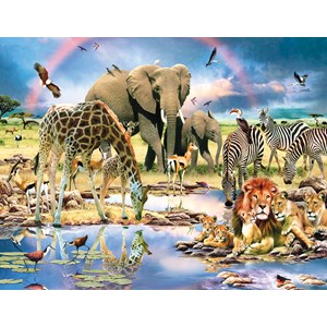 """SunsOut (59398) - Howard Robinson: """"Cradle of Life"""" - 1000 pieces puzzle"""