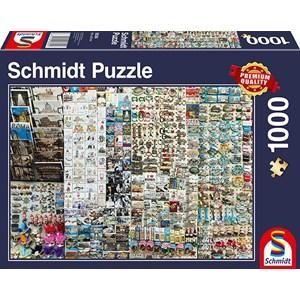 """Schmidt Spiele (58394) - """"Souvenir Stand"""" - 1000 pieces puzzle"""