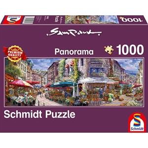 """Schmidt Spiele (59652) - Sam Park: """"Spring Atmosphere"""" - 1000 pieces puzzle"""
