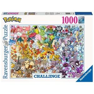 """Ravensburger (15166) - """"Pokemon"""" - 1000 pieces puzzle"""