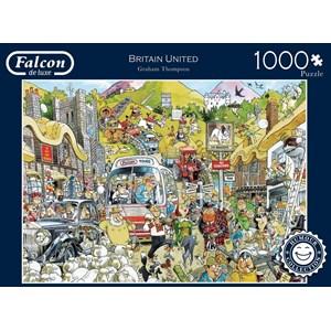 "Falcon (11197) - Graham Thompson: ""Britain United"" - 1000 pieces puzzle"