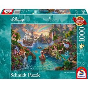 """Schmidt Spiele (59635) - Thomas Kinkade: """"Peter Pan"""" - 1000 pieces puzzle"""