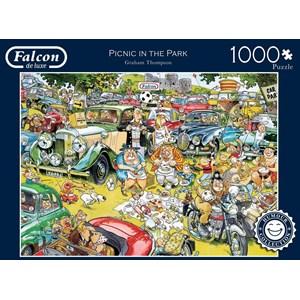 "Falcon (11199) - Graham Thompson: ""Picnic in the Park"" - 1000 pieces puzzle"