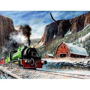"""SunsOut (57741) - Kevin Daniel: """"Canyon Express"""" - 1000 pieces puzzle"""