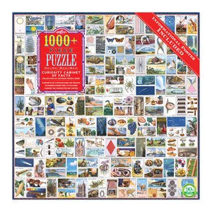 """eeBoo (PZTCCF) - """"Curiosity Cabinet of Facts"""" - 1000 pieces puzzle"""