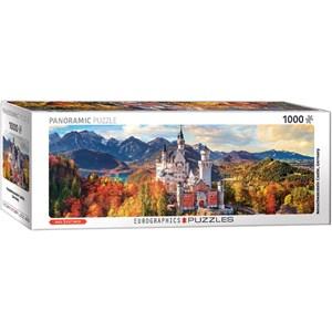 """Eurographics (6010-5444) - """"Neuschwanstein Castle in autumn"""" - 1000 pieces puzzle"""