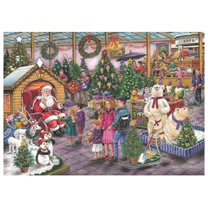 """The House of Puzzles (4951) - Ray Cresswell: """"Deck the Halls"""" - 1000 pieces puzzle"""