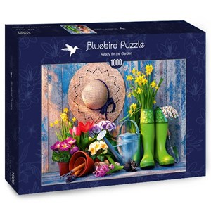 "Bluebird Puzzle (70299) - ""Ready for the Garden"" - 1000 pieces puzzle"