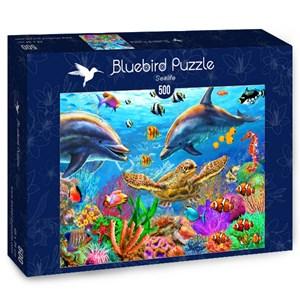 """Bluebird Puzzle (70189) - Adrian Chesterman: """"Sealife"""" - 500 pieces puzzle"""