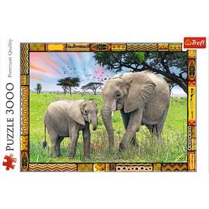 "Trefl (33067) - ""Savannah"" - 3000 pieces puzzle"