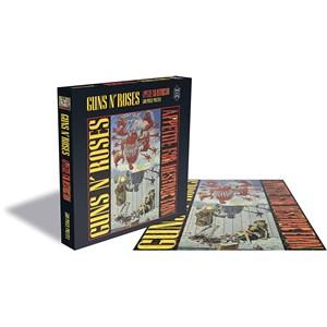 """Rock Saw (RSAW037PZ) - """"Guns N Roses, Appetite for Destruction"""" - 500 pieces puzzle"""