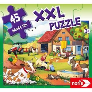 "Noris (606031565) - ""On a Farm"" - 45 pieces puzzle"