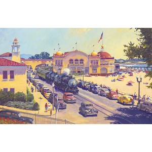 "SunsOut (21110) - John Winfield: ""Santa Cruz"" - 550 pieces puzzle"