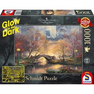 "Schmidt Spiele (59496) - Thomas Kinkade: ""Central Park in Autumn"" - 1000 pieces puzzle"