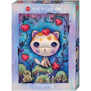 "Heye (29895) - Jeremiah Ketner: ""Strawberry Kitty"" - 1000 pieces puzzle"