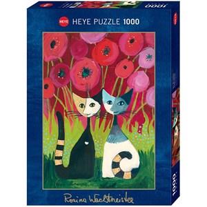 "Heye (29900) - Rosina Wachtmeister: ""Poppy Canopy"" - 1000 pieces puzzle"