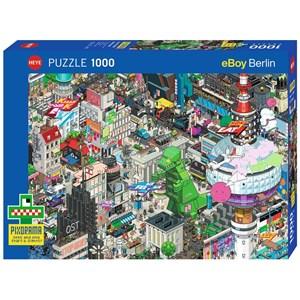 """Heye (29915) - eBoy: """"Berlin Quest"""" - 1000 pieces puzzle"""