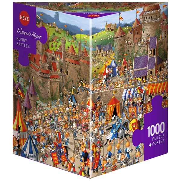 "Heye (29920) - ""Bunny Battles, Ruyer"" - 1000 pieces puzzle"