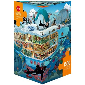 "Heye (29925) - Uli Oesterle: ""Submarine Fun"" - 1500 pieces puzzle"