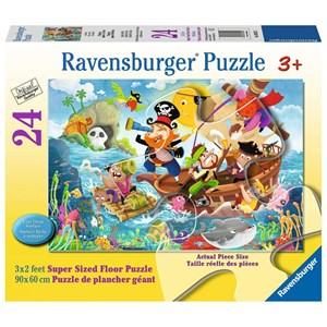 """Ravensburger (03042) - """"Land Ahoy!"""" - 24 pieces puzzle"""