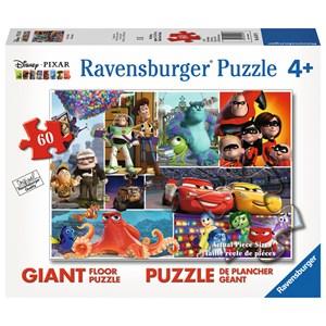 """Ravensburger (05547) - """"Pixar Friends"""" - 60 pieces puzzle"""