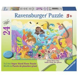 """Ravensburger (05559) - """"Splashing Mermaids"""" - 24 pieces puzzle"""