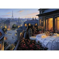 "Ravensburger (19410) - ""Paris Balcony"" - 1000 pieces puzzle"