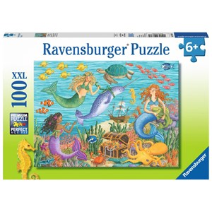"""Ravensburger (10838) - """"Narwhal's Friends"""" - 100 pieces puzzle"""