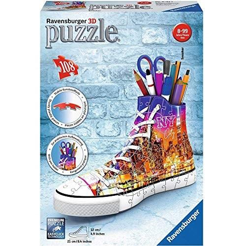 "Ravensburger (11152) - ""Sneaker Skyline"" - 108 pieces puzzle"
