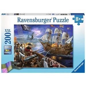 """Ravensburger (12759) - """"Blackbeard's Battle"""" - 200 pieces puzzle"""