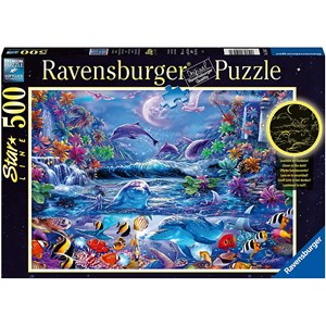 """Ravensburger (15047) - """"The Magic of the Moonlight"""" - 500 pieces puzzle"""