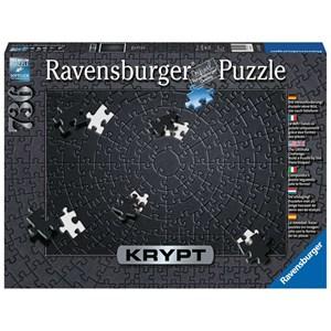 """Ravensburger (15260) - """"Krypt Black"""" - 736 pieces puzzle"""