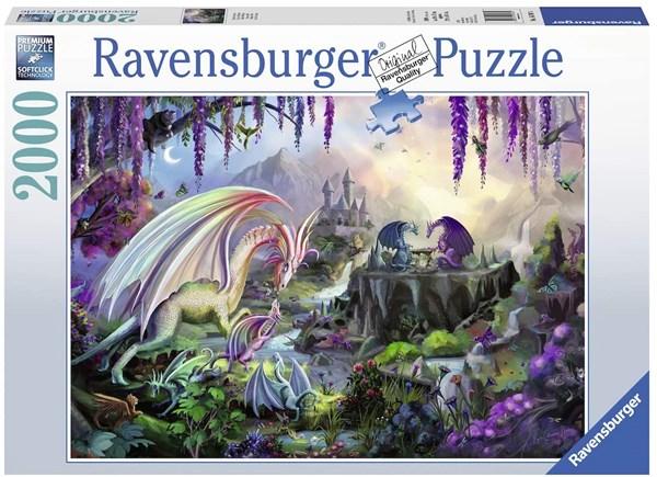 "Ravensburger (16707) - ""Dragon Valley"" - 2000 pieces puzzle"
