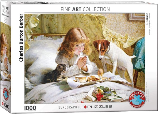 "Eurographics (6000-5329) - Charles Burton Barber: ""Suspense"" - 1000 pieces puzzle"